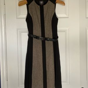 Vince Camuto Button Down Belted Dress